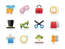 Iconos de la moda Fotos de archivo libres de regalías