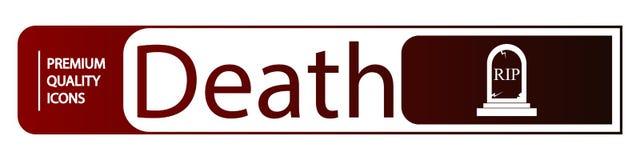 iconos de la muerte del fondo libre illustration