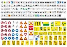 Iconos de la muestra del camino stock de ilustración