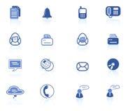 Iconos de la oficina Foto de archivo libre de regalías