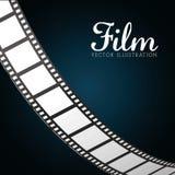 Iconos de la película y del cine Imagen de archivo