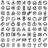 Iconos de la plantilla ilustración del vector