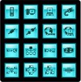 Iconos de la red Imágenes de archivo libres de regalías