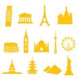Iconos de la señal Foto de archivo