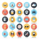 Iconos de la tecnología Imagen de archivo