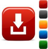 Iconos de la transferencia directa. stock de ilustración