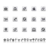 Iconos de la venta Foto de archivo libre de regalías