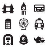 Iconos de Londres Fotografía de archivo libre de regalías