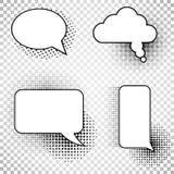 Iconos de los globos de discurso de los tebeos de la colección libre illustration