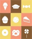 Iconos de los pasteles Libre Illustration