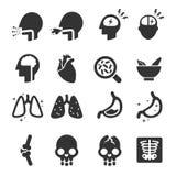 Iconos de los síntomas libre illustration