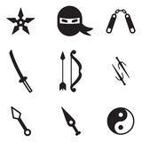 Iconos de Ninja libre illustration