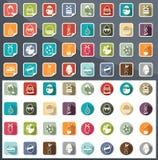 Iconos de pascua de la celebración Imagenes de archivo