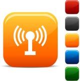 Iconos de radio. Imagen de archivo libre de regalías