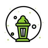 Iconos de Ramadan Rezo musulm?n del Islam y l?nea fina iconos del kareem del Ramad?n fijados S?mbolos planos modernos del estilo  fotos de archivo libres de regalías