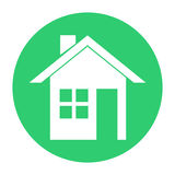 Iconos de Real Estate Imagenes de archivo