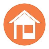 Iconos de Real Estate Fotografía de archivo libre de regalías