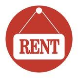 Iconos de Real Estate Fotografía de archivo