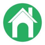 Iconos de Real Estate Fotos de archivo libres de regalías