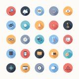 Iconos de Seo Foto de archivo libre de regalías