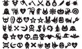 Iconos de Víspera de Todos los Santos Imagenes de archivo