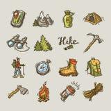 iconos del alza Fotos de archivo libres de regalías