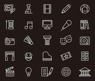 Iconos del arte Imagen de archivo libre de regalías