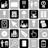 Iconos del asunto Imagen de archivo libre de regalías