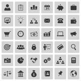 Iconos del asunto Foto de archivo libre de regalías