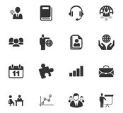 Iconos del asunto fijados Fotografía de archivo libre de regalías