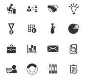 Iconos del asunto fijados Imagen de archivo libre de regalías