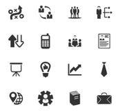 Iconos del asunto fijados Fotos de archivo libres de regalías