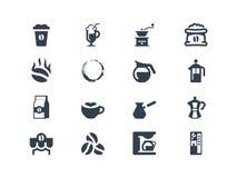 Iconos del café libre illustration