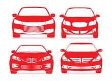 Iconos del coche Fotografía de archivo libre de regalías