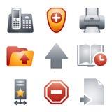 Iconos del color para el Web site 4