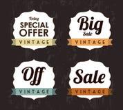 Iconos del comercio Foto de archivo libre de regalías