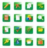 Iconos del contable de WWW