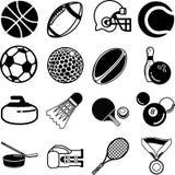 Iconos del deporte Fotografía de archivo