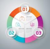 Iconos del diseño y del márketing de Infographic Imagen de archivo libre de regalías