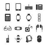 Iconos del dispositivo de la tecnología ilustración del vector