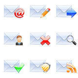 Iconos del email.
