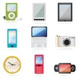 Iconos del equipo Fotografía de archivo libre de regalías