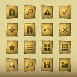 Iconos del espectador del papiro libre illustration