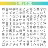 Iconos del garabato del vector para el web Fotografía de archivo libre de regalías