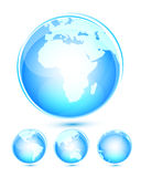 Iconos del globo libre illustration