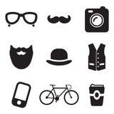 Iconos del inconformista Fotografía de archivo libre de regalías