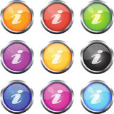 Iconos del Info stock de ilustración