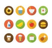 Iconos del interfaz del color stock de ilustración