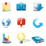 Iconos del Internet y del Web | Serie de Bella ilustración del vector