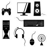 Iconos del juego Imágenes de archivo libres de regalías